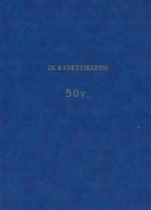 28. Kadettikurssi 1946-1947 50v.,