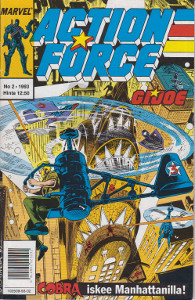 Action Force G.I. Joe 2/1993,