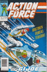 Action Force G.I. Joe 7/1990,