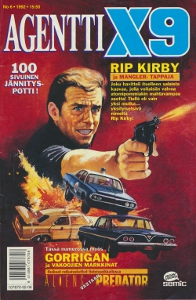 Agentti X9 6/1992,
