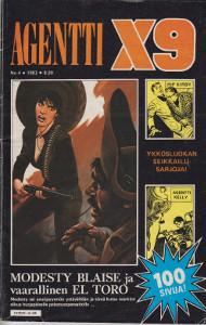Agentti X9 4/1983,