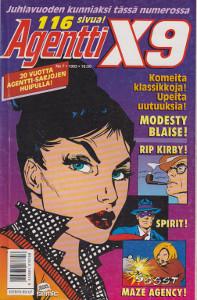 Agentti X9 7/1993,