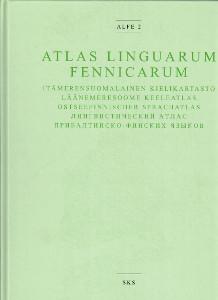 Atlas Linguarum Fennicarum - Alfe 2 - Itämerensuomalainen kielikartasto, Läänemeresoome keeleatlas, Ostseefinnischer sprachatlas,