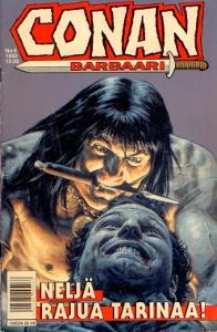 Conan barbaari 6/1992 Neljä rajua tariaa!,