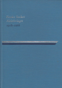 Finska Socker Aktiebolaget 1918-1968,
