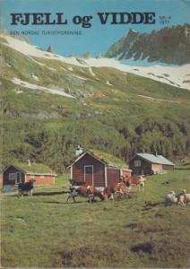 Fjell og vidde Nr. 4/1977 Sunnmøre,