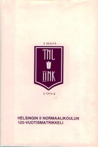 Helsingin II Normaalikoulun 125-vuotismatrikkeli,