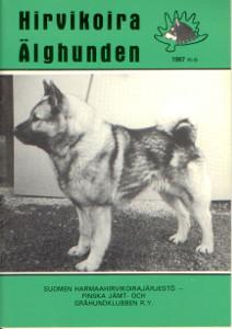 Hirvikoira älghunden /1987,