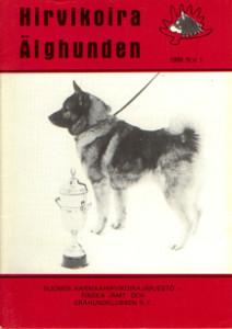 Hirvikoira älghunden 1/1986,