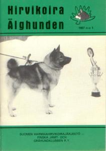 Hirvikoira älghunden 1/1987,