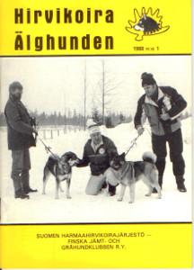 Hirvikoira älghunden 1/1988,