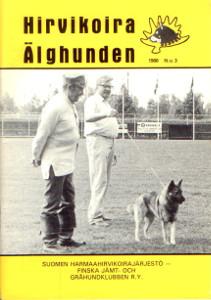 Hirvikoira älghunden 3/1988,