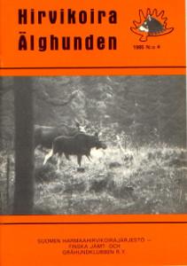 Hirvikoira älghunden 4/1985,