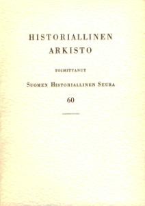 Historiallinen arkisto 60,