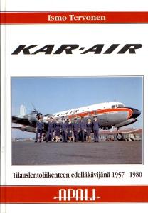 Kar-air Tilauslentoliikenteen edelläkävijänä 1957-1980,Tervonen Ismo