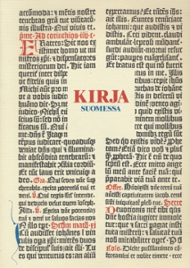 Kirja Suomessa - Kirjan juhlavuoden näyttely Kansallismuseossa 25.8.-31.12.1988,