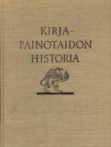 Kirjapainotaidon historia,Jäntti Yrjö A.