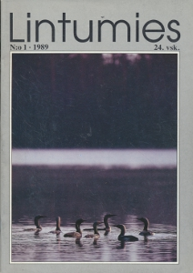 Lintumies 1/1989,