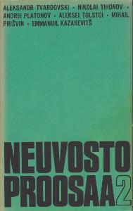 Neuvostoproosaa 2 - Sosialistisen realismin kausi 30-luvun alusta 40-luvun loppuun,Adrian Esa (toim.)