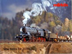 Märklin New items for 2000,
