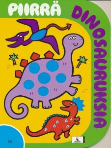 Piirrä dinosauruksia,