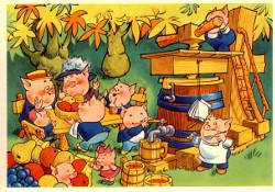 Postisäästöpankki: Sekahedelmämehu on herkullista Tuttifrutti-trädet,