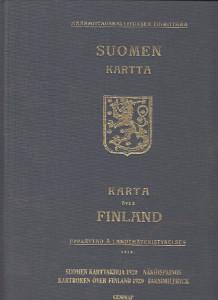 Suomen kartta Karta över Finland,Harju Erkki-Sakari (toim.)