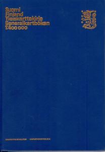 Suomi Finland yleiskarttakirja generalkartboken 1:400000,Maanmittaushallitus toim.