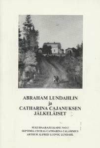 Abraham Lundahlin ja Catharina Cajanuksen jälkeläiset,Reinilä Pentti