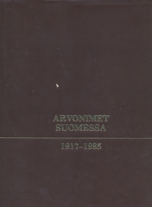 Arvonimet Suomessa 1917-1985,Martin, Flinkkilä, Segercrantz