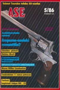 Ase-lehti 5/86,