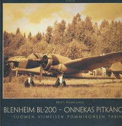 Blenheim BL-200, Onnekas pitkänokka, Suomen viimeisen pommikoneen tarina,Hämäläinen Matti