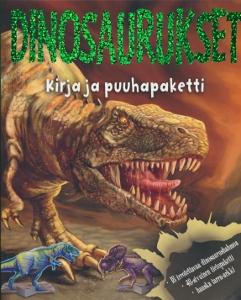 Dinosaurukset -Kirja ja puuhapaketti,
