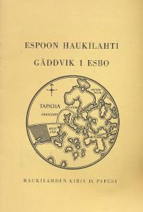 Espoon Haukilahti,