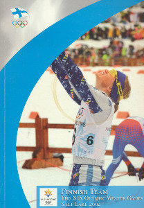 Finnish team - The XIX olympic winter games Salt Lake 2002,