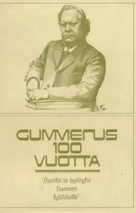 Gummerus 100 vuotta - K.J. Gummerus osakeyhtiön kustannustuotanto vuosina 1872-1971,