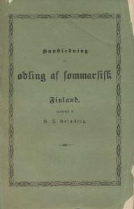 Handledning för odling as sommarsist ,Holmberg H.J.