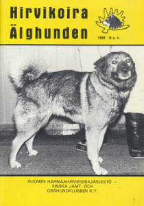 Hirvikoira - Älghunden 1988/4,