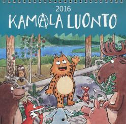 Kamala luonto 2016-seinäkalenteri,