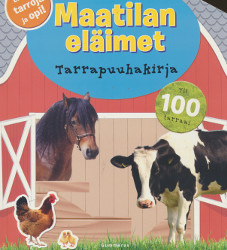 Maatilan eläimet - Tarrapuuhakirja,