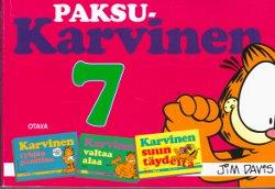 Paksu Karvinen 7 Karvinen tyhjän panttina Karvinen valtaa alaa Karvinen suun täydeltä,Davis Jim