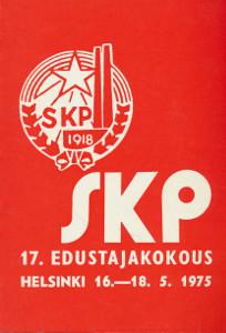 Suomen kommunistisen puolueen 17. edustajakokous Helsingissä 16.-18.5.1975,