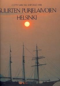 Suurten purjelaivojen Helsinki Cutty sark tall ships´race 1988 ,
