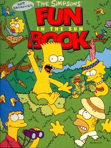 The Simpsons Fun in the sun book,Groening Matt